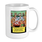 Reindeer Caffeine Coffee Large Mug