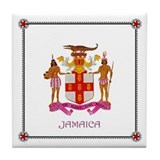 Tile Coaster - JAMAICA