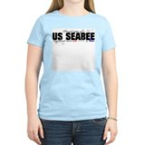 Red, white &amp; blue Seabee Sist T-Shirt