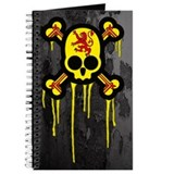Scottish Punk Skull Journal