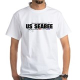 Red, white & blue Seabee Gran Shirt
