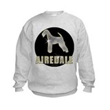 Bling Airedale Sweatshirt