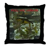 Dr. Newt Feel the Torpor Throw Pillow