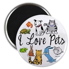 "Pet Lover 2.25"" Magnet (10 pack)"
