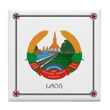 Tile Coaster - LAOS