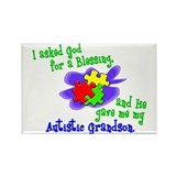 Blessing 2 (Autistic Grandson) Rectangle Magnet