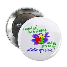 """Blessing 2 (Autistic Grandson) 2.25"""" Button"""