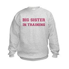Big sister in training Sweatshirt