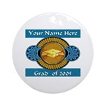 College Grad Personalized Keepsake (Round)