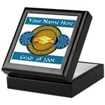 College Grad Personalized Keepsake Box
