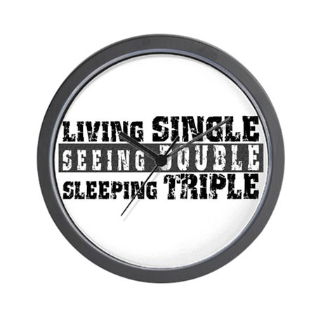 Living Single... Wall Clock
