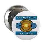 College Grad Personalized Button