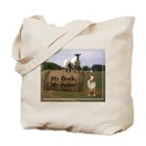 my flock my rules Tote Bag