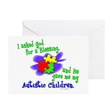 Blessing 2 (Autistic Children) Greeting Cards (Pk