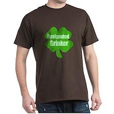 Designated Drinker St Patricks Day T-Shirt