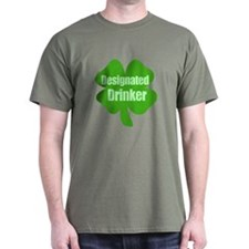 Designated Drinker St Patricks Day T-Shirt
