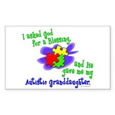 Blessing 2 (Autistic Granddaughter) Decal