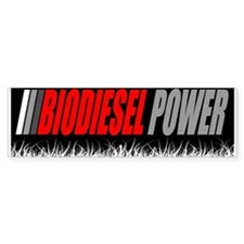 Biodiesel Power Bumper Bumper Sticker