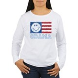 Obama Smiley Flag T-Shirt