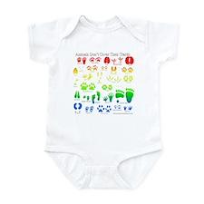 Colorful Rainbow Infant Bodysuit