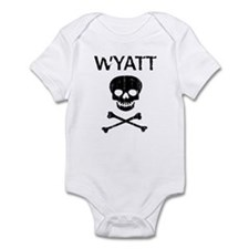 WYATT (skull-pirate) Infant Bodysuit