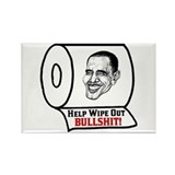 &quot;Help Wipe Out Bullshit (Obama)&quot; Magnet