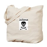 Juliana (skull-pirate) Tote Bag