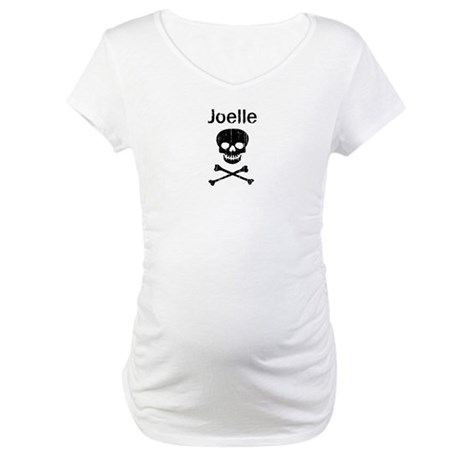 Joelle (skull-pirate) Maternity T-Shirt