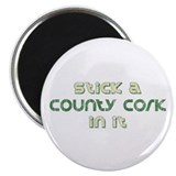"County Cork In It Irish 2.25"" Magnet (100 pack)"