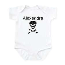 Alexandra (skull-pirate) Infant Bodysuit