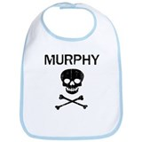 MURPHY (skull-pirate) Bib