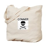 CONNER (skull-pirate) Tote Bag