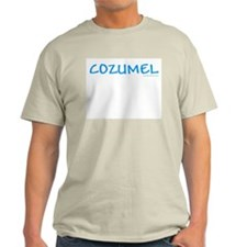 Cozumel - Ash Grey T-Shirt