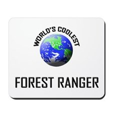 World's Coolest FOREST RANGER Mousepad