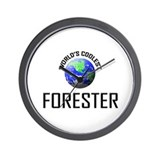 World's Coolest FORESTER Wall Clock