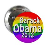 Obama 2012 Rainbow Buttons (10 pack)