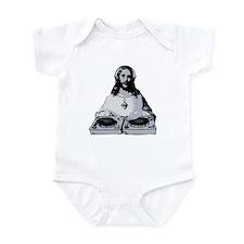 Jesus As A DJ T-Shirt Infant Bodysuit