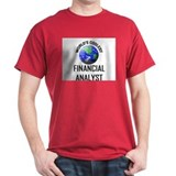 World's Coolest FINANCIAL ANALYST T-Shirt