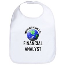 World's Coolest FINANCIAL ANALYST Bib