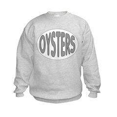 Oysters Oval Kids Sweatshirt