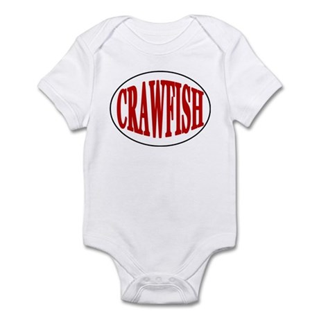 Crawfish Oval Infant Bodysuit