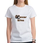 Cancer Bites Women's T-Shirt