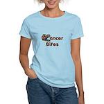 Cancer Bites Women's Light T-Shirt
