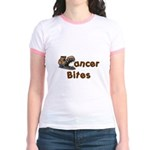 Cancer Bites Jr. Ringer T-Shirt
