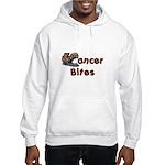 Cancer Bites Hooded Sweatshirt