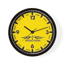 RowZone Wall Clock