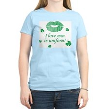 I Love Men in Uniform T-Shirt