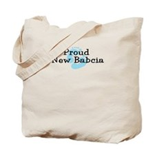 Proud New Babcia B Tote Bag