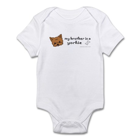 yorkie gifts Infant Bodysuit