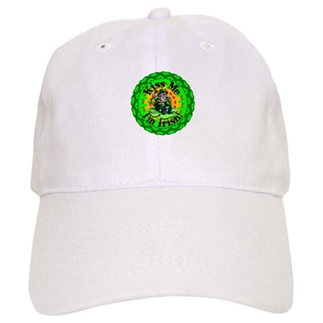 Kiss Me Irish Leprechaun Cap